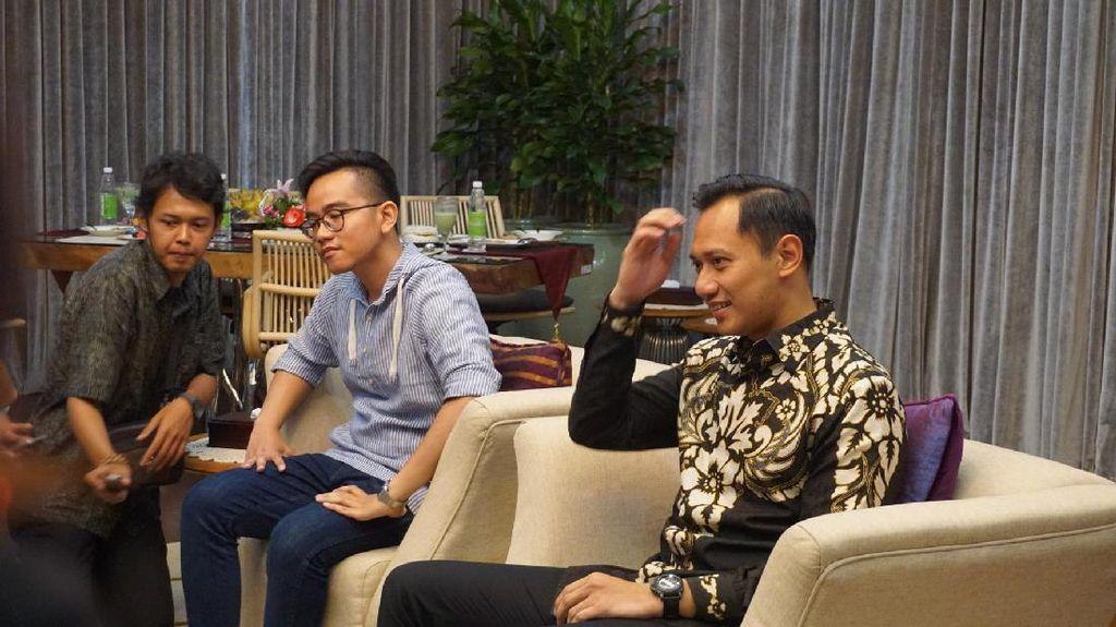Politik Putra Sulung Jokowi-SBY Dalam Manisnya Gudeg dan Bubur Lemu