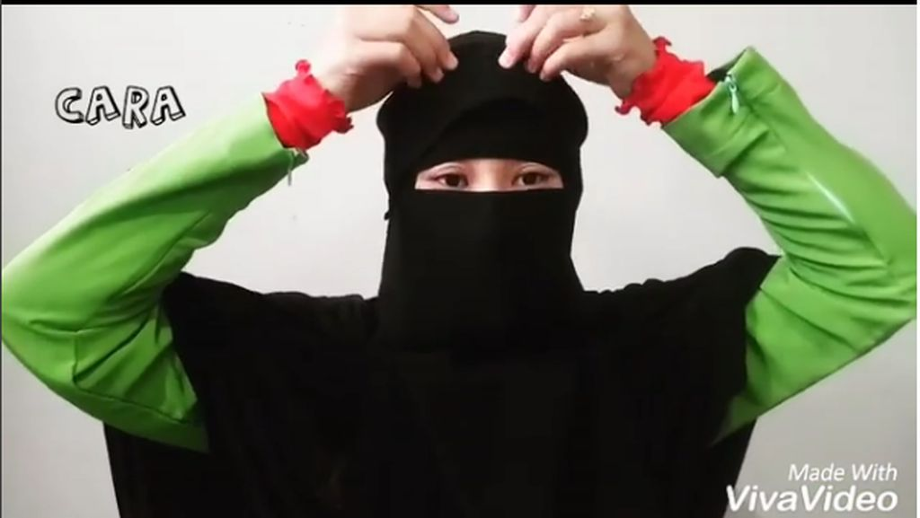 4 Kreasi Tutorial Hijab Pakai Niqab