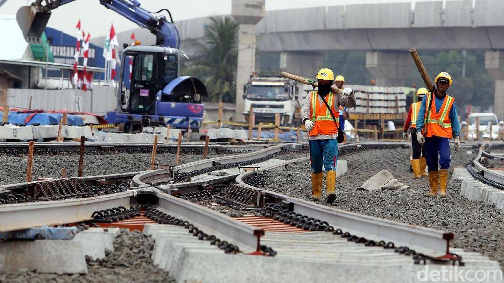 Dibangun Sejak 2013, Fisik MRT Jakarta Sudah Capai 76%