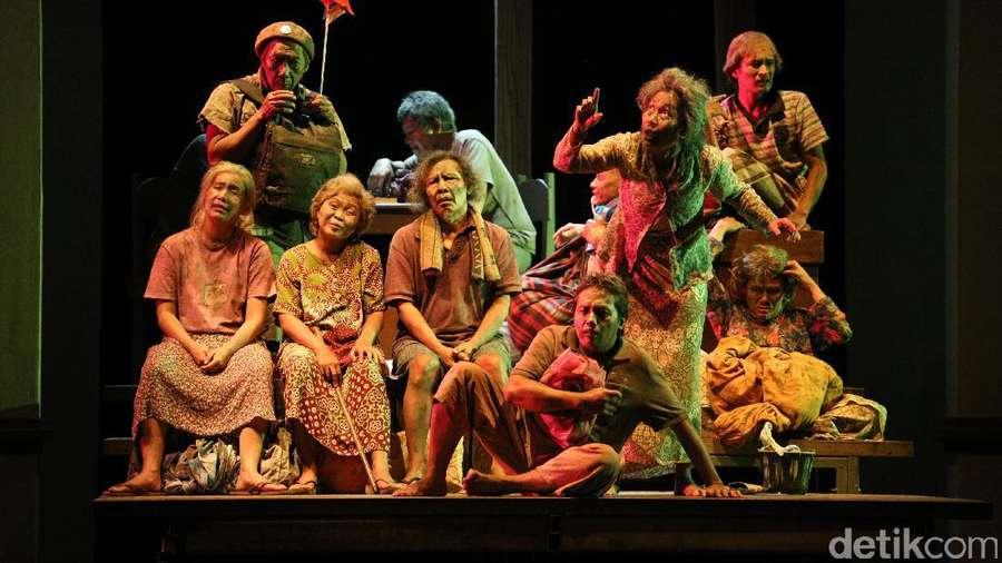 Rayakan HUT ke-40 Tahun, Teater Koma Pentaskan Lakon Warisan