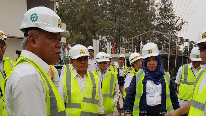 Pembangunan Wisma Atlet Kemayoran Sudah Sampai 98 Persen