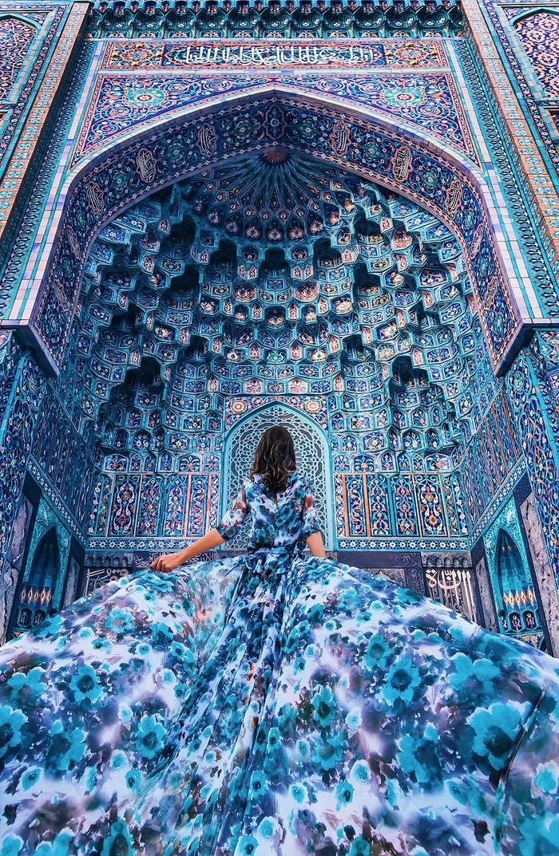 Cathedral Mosque di St Petersburg, Rusia. Foto: Instagram.com/hobopeeba