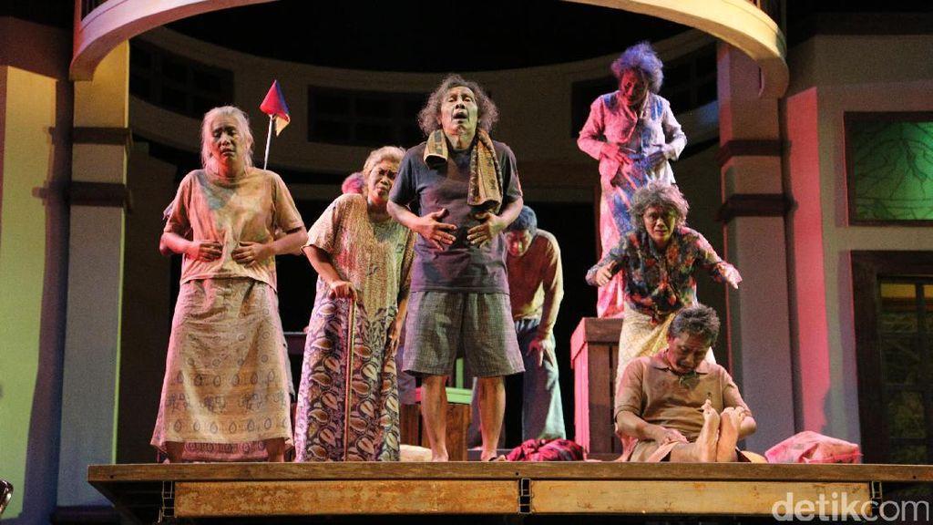 Pertunjukan Warisan Tanpa Musik, Teater Koma Tampil Beda di Usia 40 Tahun