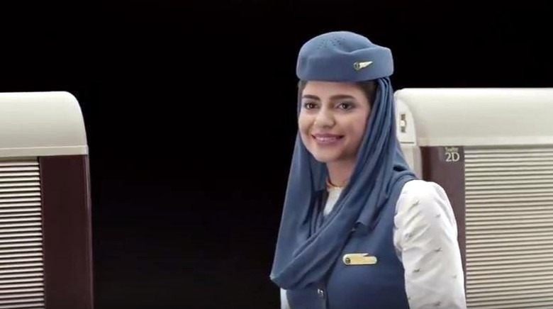 Pramugari Maskapai Saudia Airlines (Youtube)