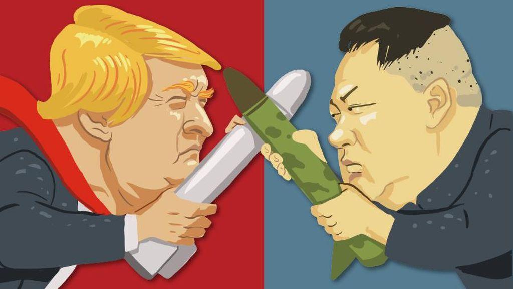 Tunda Serangan ke Guam, Kim Jong-Un Ingin Awasi Aksi Bodoh AS