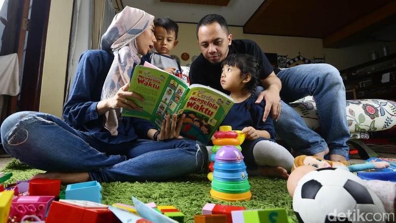 Trik agar pesan moral di buku cerita sampai ke anak/ Foto: Hasan Al Habsy
