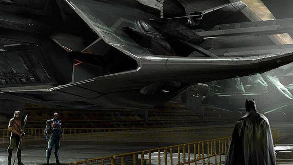 Ini Flying Fox Mainan Baru Bruce Wayne