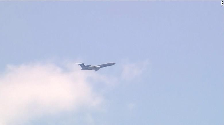 Jet Tempur Rusia Terbang Rendah di Atas Capitol dan Pentagon AS