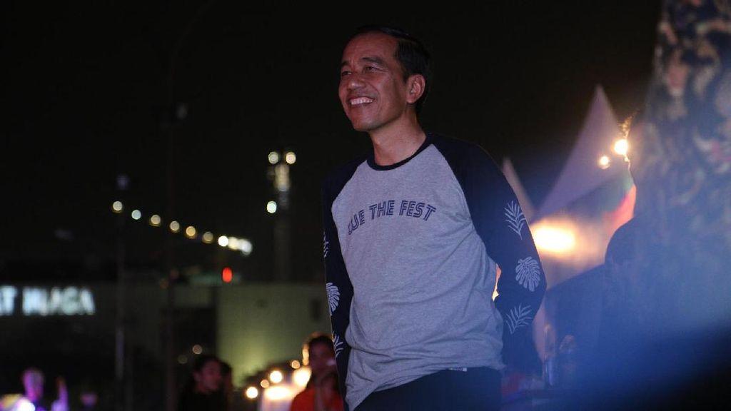 Bripda Yoga Pernah Main GGS, Jokowi Nonton We The Fest