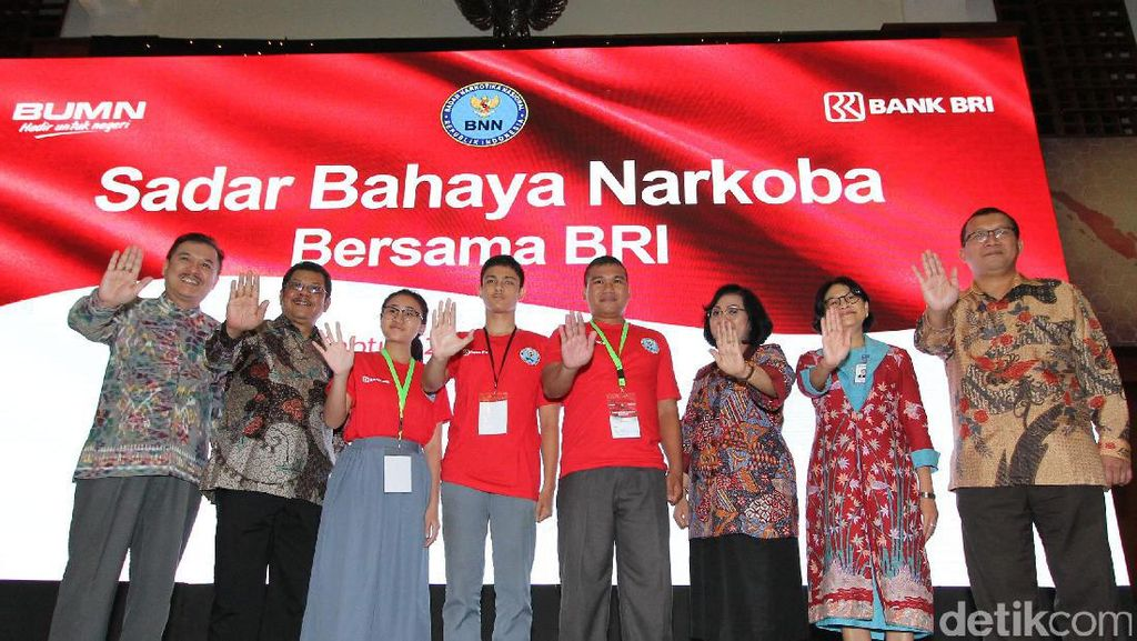 Bank BRI Gandeng BNN Gelar Workshop Bahaya Narkoba