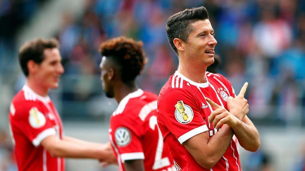 Ribut-ribut Lewandowski dan CEO Bayern soal Kebijakan Transfer