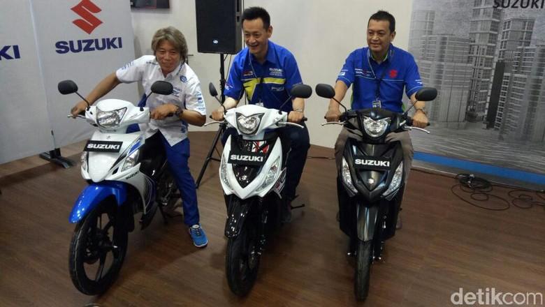 Suzuki Segarkan Address dan Smash