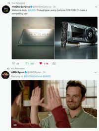 Ketika Nvidia AJak AMD Balikan via Medsos
