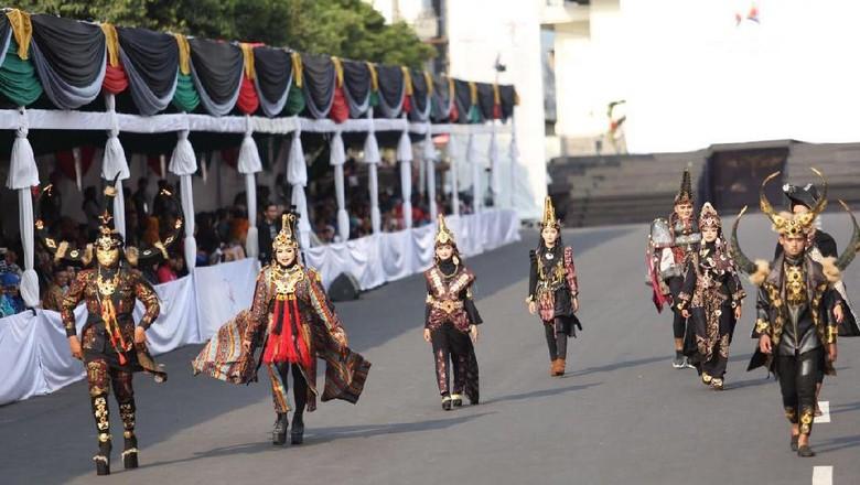Foto: Pagelaran Jember Fashion Carnaval (dok Kemenpar)
