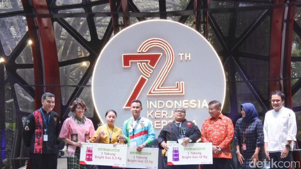 Botok Ikan dari Pontianak Juarai Lomba Masak Ikan Nusantara