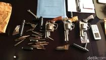 Pencuri Motor Ditangkap di Ragunan, 3 Senpi Rakitan Disita