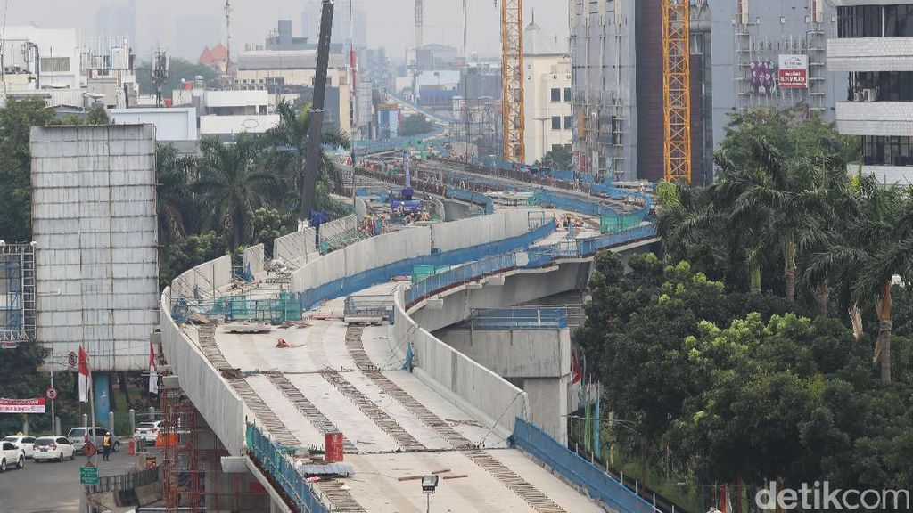MRT Siap Diuji Coba Mei 2018