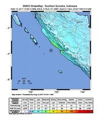 BMKG: Gempa 6,4 SR di Bengkulu Tak Berpotensi Tsunami