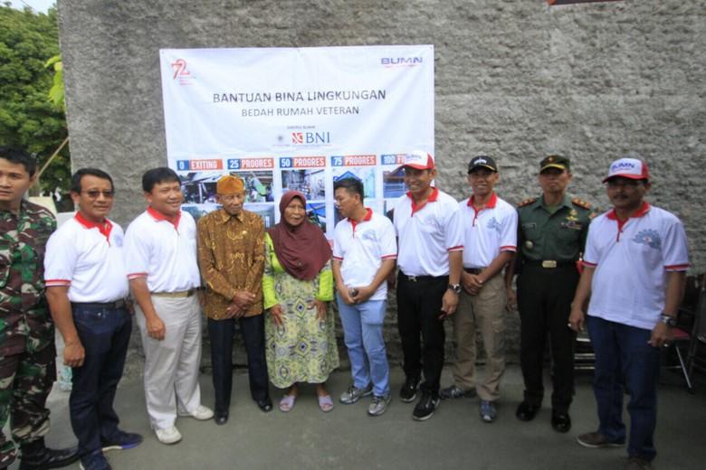 BNI Bedah 46 Rumah Veteran di Yogyakarta