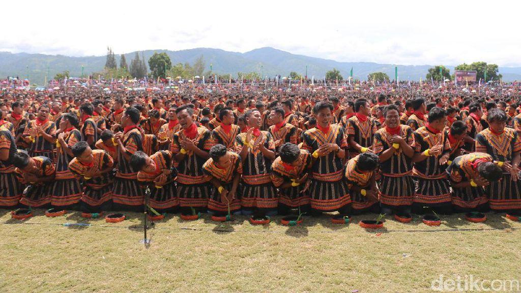 Punya 12.262 Penari Saman, Gayo Lues Pecahkan Rekor Muri