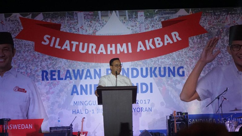 Bangun Jakarta dengan Pendekatan Gerakan, Anies Ajak Semua Elemen