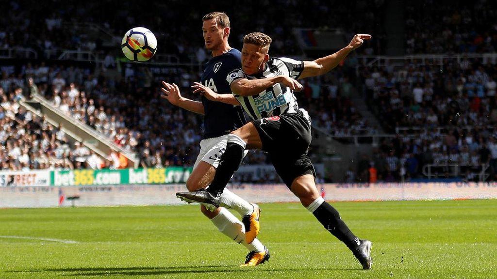 Newcastle vs Spurs Masih Imbang Tanpa Gol