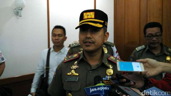 13 Hari Bulan Tertib Trotoar, 4.799 Pengendara-PKL Ditindak