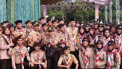 Harapan Khusus Pramuka untuk Kak Jokowi