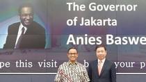 Disambut sebagai The Governor of Jakarta di Seoul, Ini Kata Anies