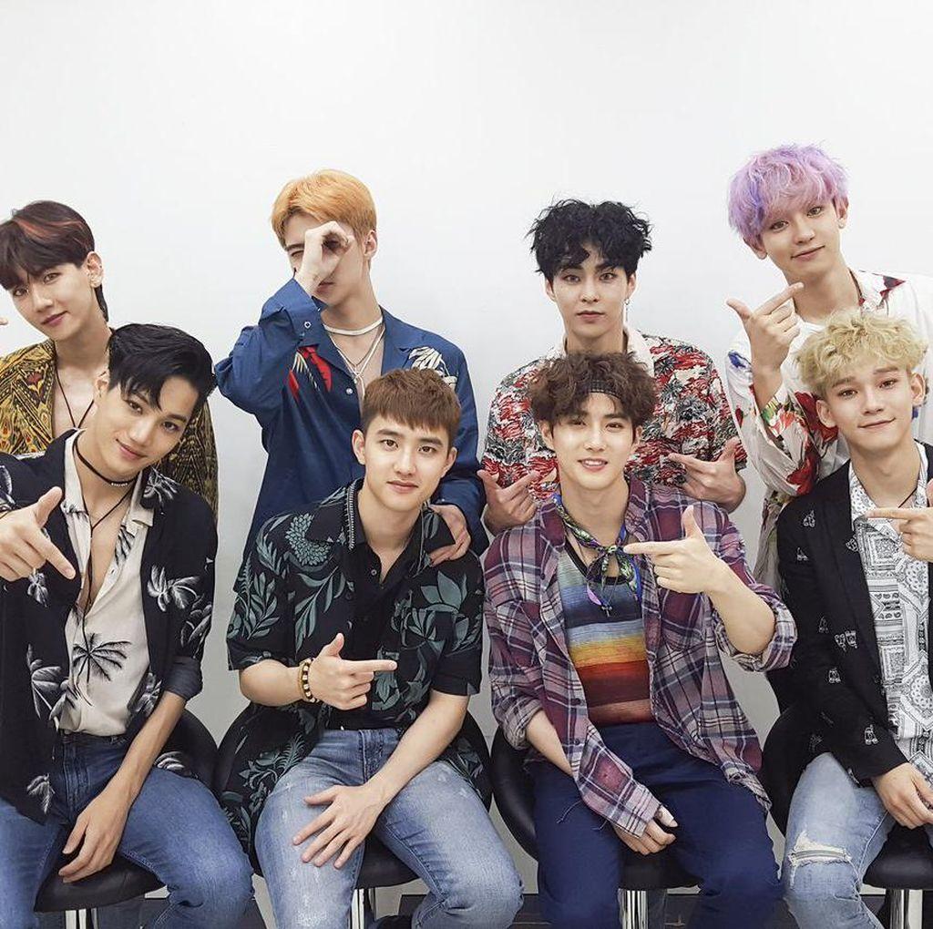 Album Terjual 1 Juta Kopi, EXO: Ini Belum Sebulan, Sulit Dipercaya