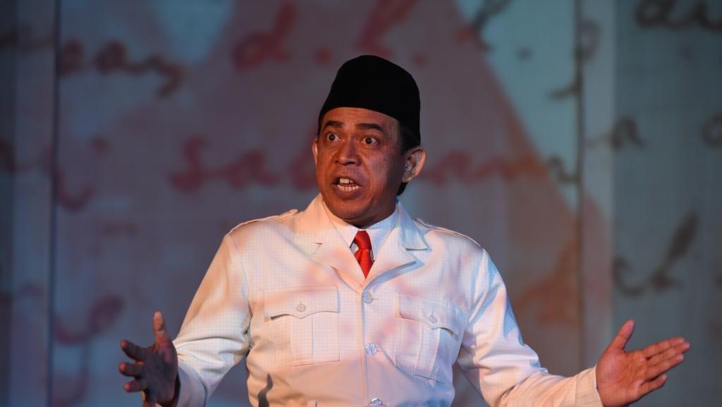 Sukses di Moskow, Monolog Bung Karno Digelar di Jakarta