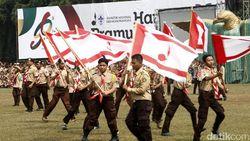 3 Kontingen Negara Ikut Tutup Raimuna Nasional XI Gerakan Pramuka