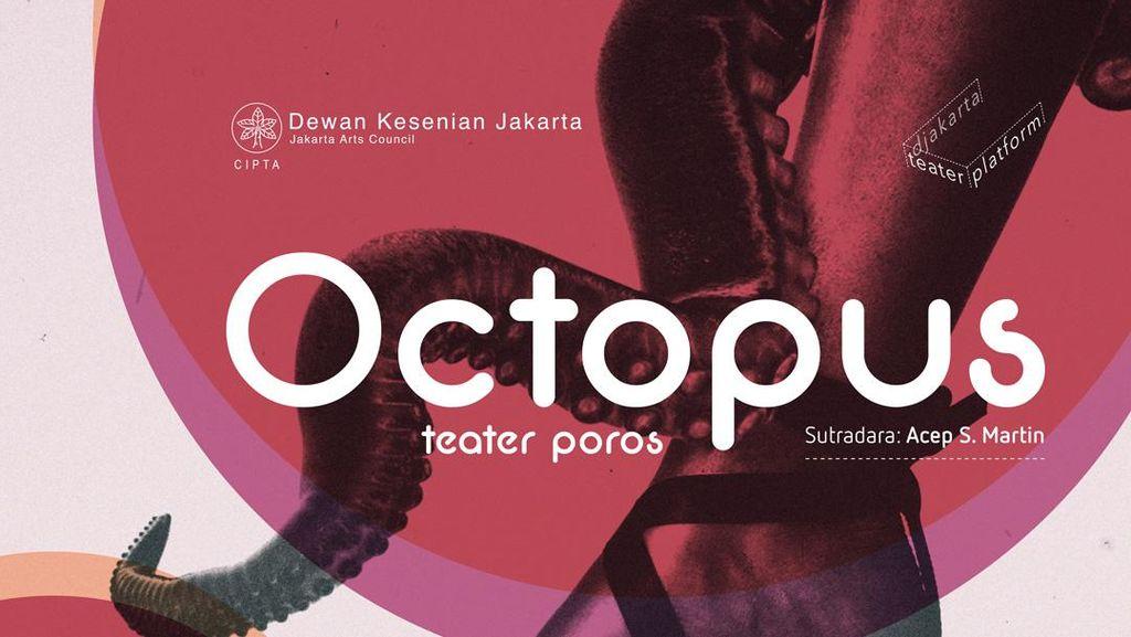 Pentas Octopus Teater Poros Terinspirasi dari Kawasan Pasar Senen