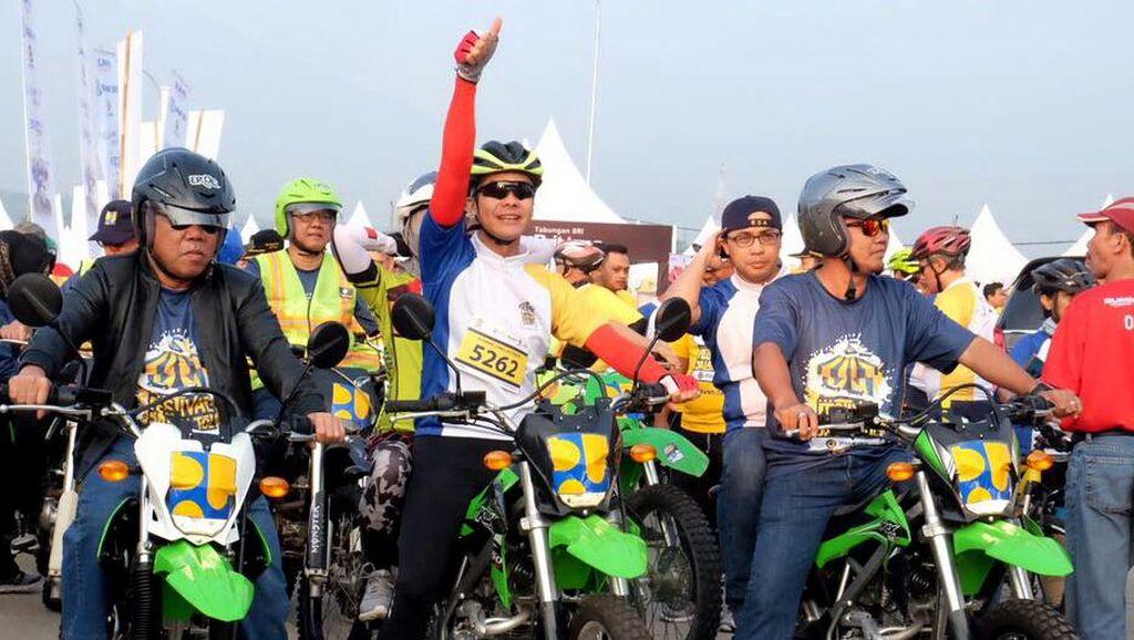 Ngeng...!!! Menteri PUPR Ngetrail di Tol Bawen Salatiga