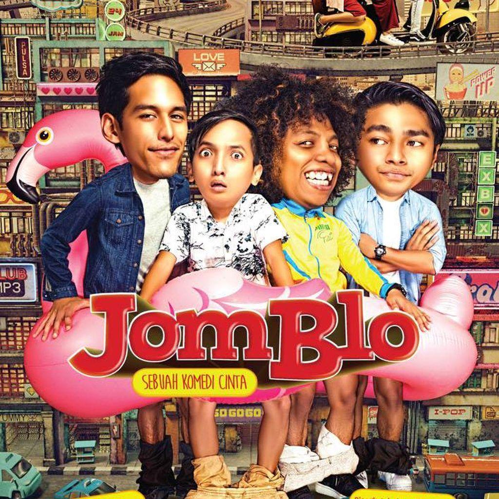 Film Jomblo Rilis Poster Warna-warni