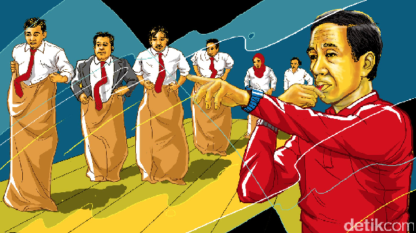 Galau Jokowi di Tengah Isu Reshuffle