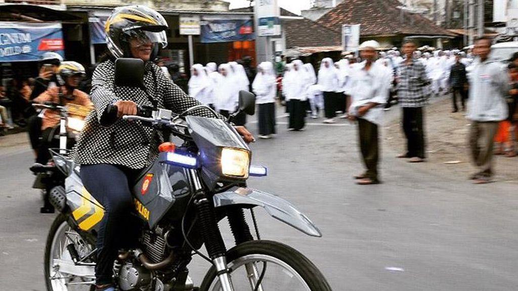 Foto: Susi Ngetrail di Lombok