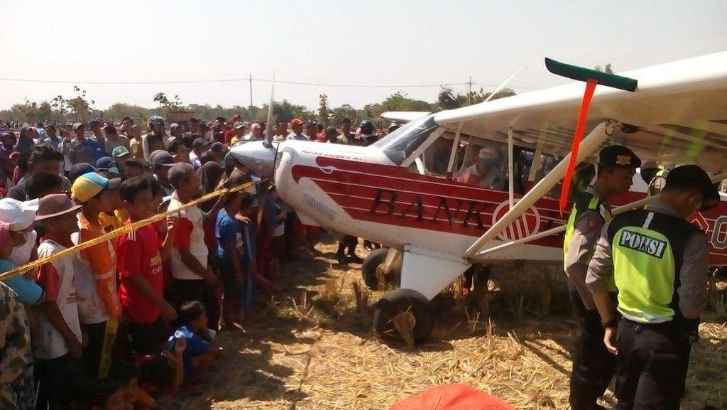 Saksi Pesawat KONI yang Mendarat di Ponorogo: Tak Ada Bunyinya