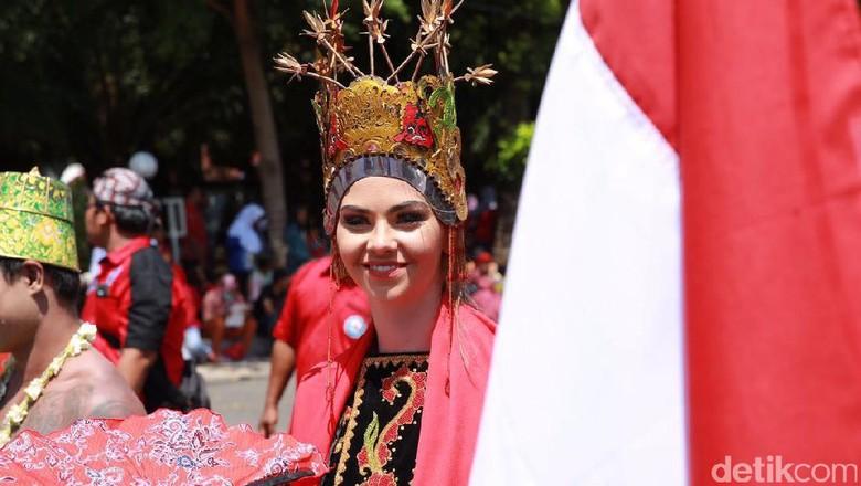 Sambut Hari Kemerdekaan, Banyuwangi Gelar Pawai Kebangsaan