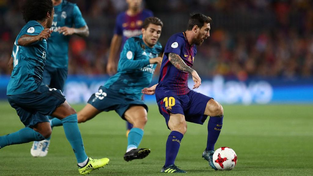 Madrid Bungkam Barca di Camp Nou