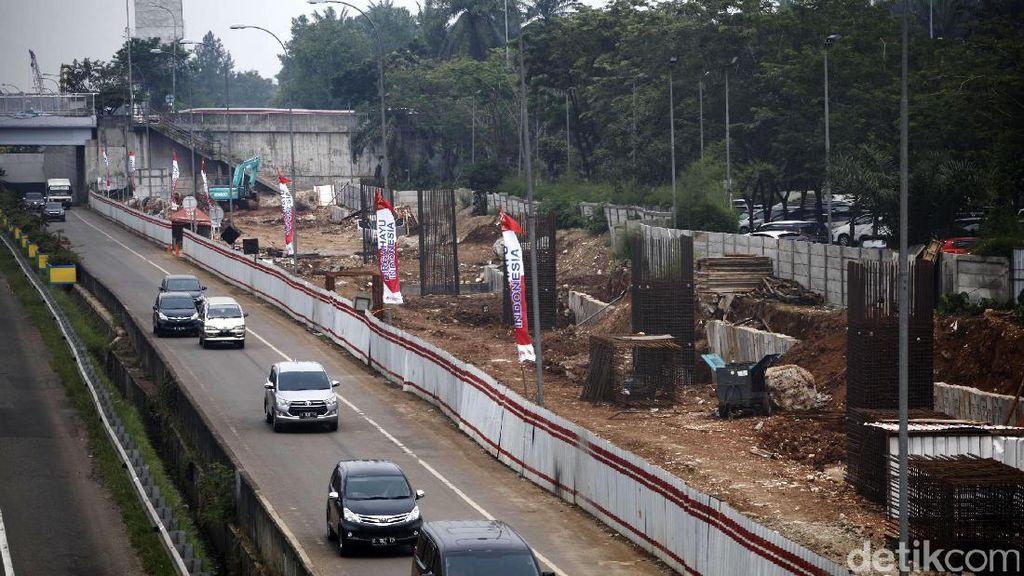 Beroperasi 2019, LRT Jabodebek Bakal Pecah Kemacetan di Cibubur