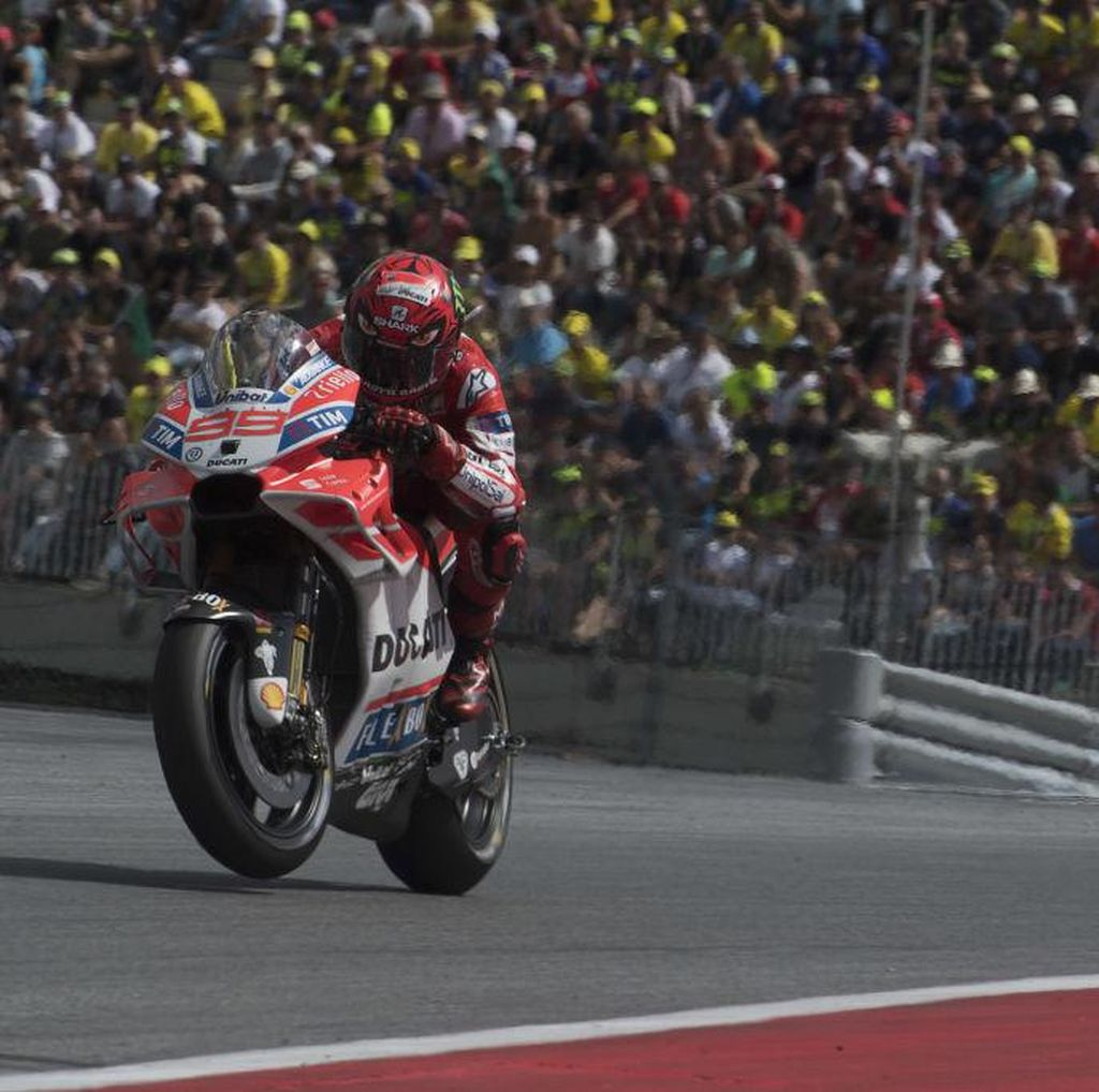 Balapan Terbaik Lorenzo dengan Ducati Sejauh Ini