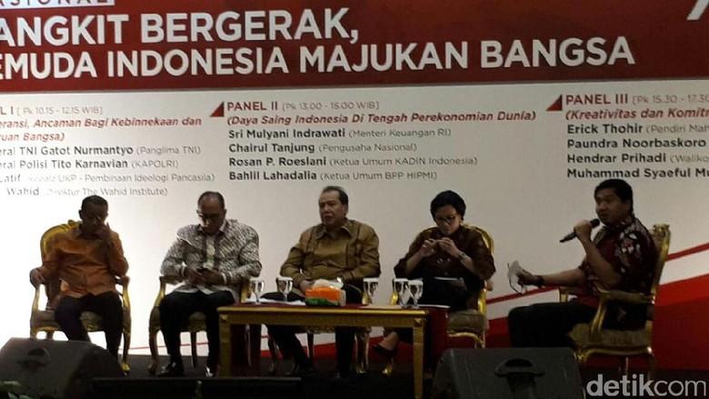 Sri Mulyani Hingga Chairul Tanjung Kumpul Bahas Daya Saing RI
