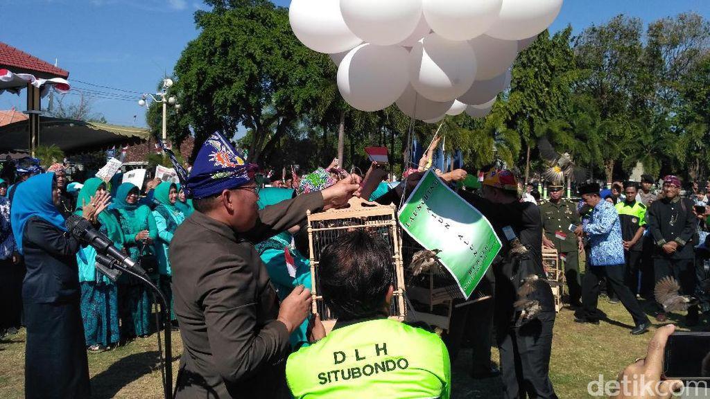 Alun-Alun Situbondo Dijadikan Kawasan Bersih dan Sehat