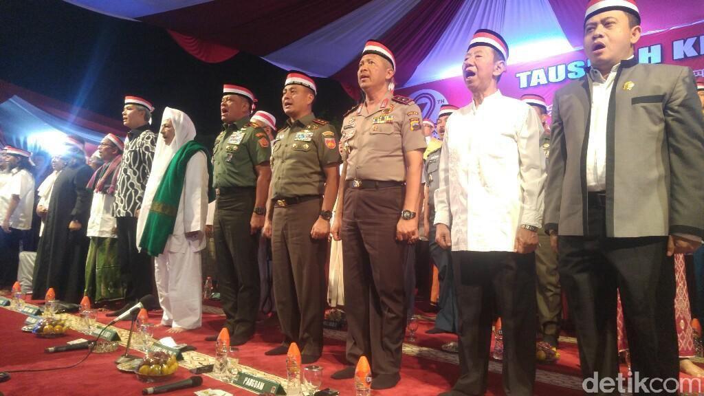 Panglima TNI Hadiri Tausiyah Kebangsaan Habib Luthfi di Semarang