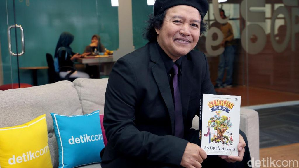Novel Sirkus Pohon Andrea Hirata Terinspirasi Kisah Perempuan Belitung Timur
