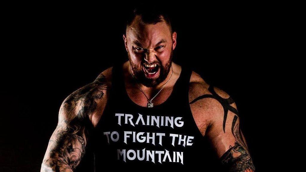 Foto: The Mountain GOT Sah Jadi Pria Terkuat di Eropa