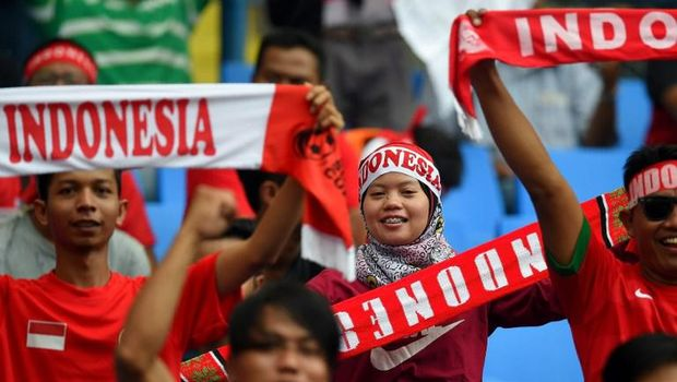 Indonesia Menang 3-0, #TimnasDay Menggema di HUT #RI72