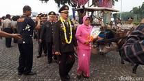 Polres Jakpus Lepas 25 Purnawirawan di Silang Monas