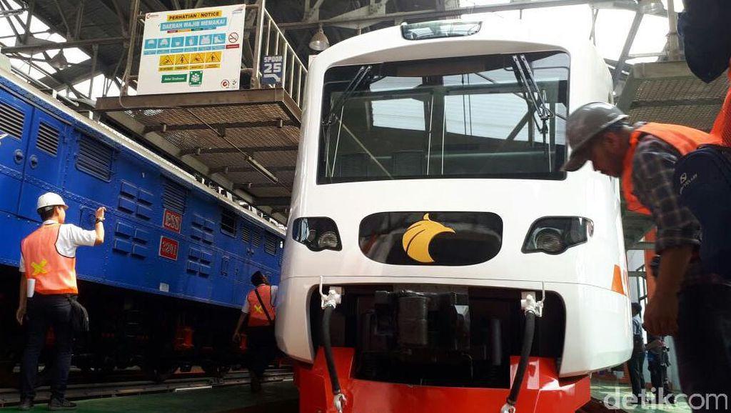 Kereta Bandara Soekarno-Hatta Beroperasi Tiga Bulan Lagi